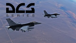 Стрим - сравниваем маневренность F-16 с другими самолетами в DCS World (18+)