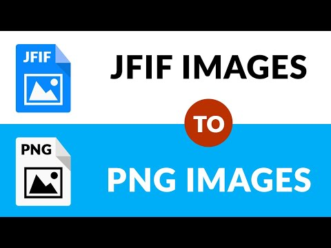 🏆✔ Best Way To Convert Multiple JFIF To PNG Images 🏆✔