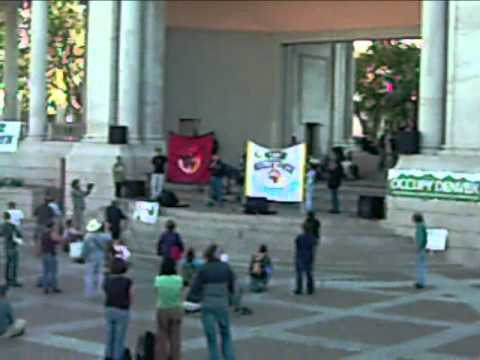 Glenn Morris Speaks to Occupy Denver on Behalf of AIM 2