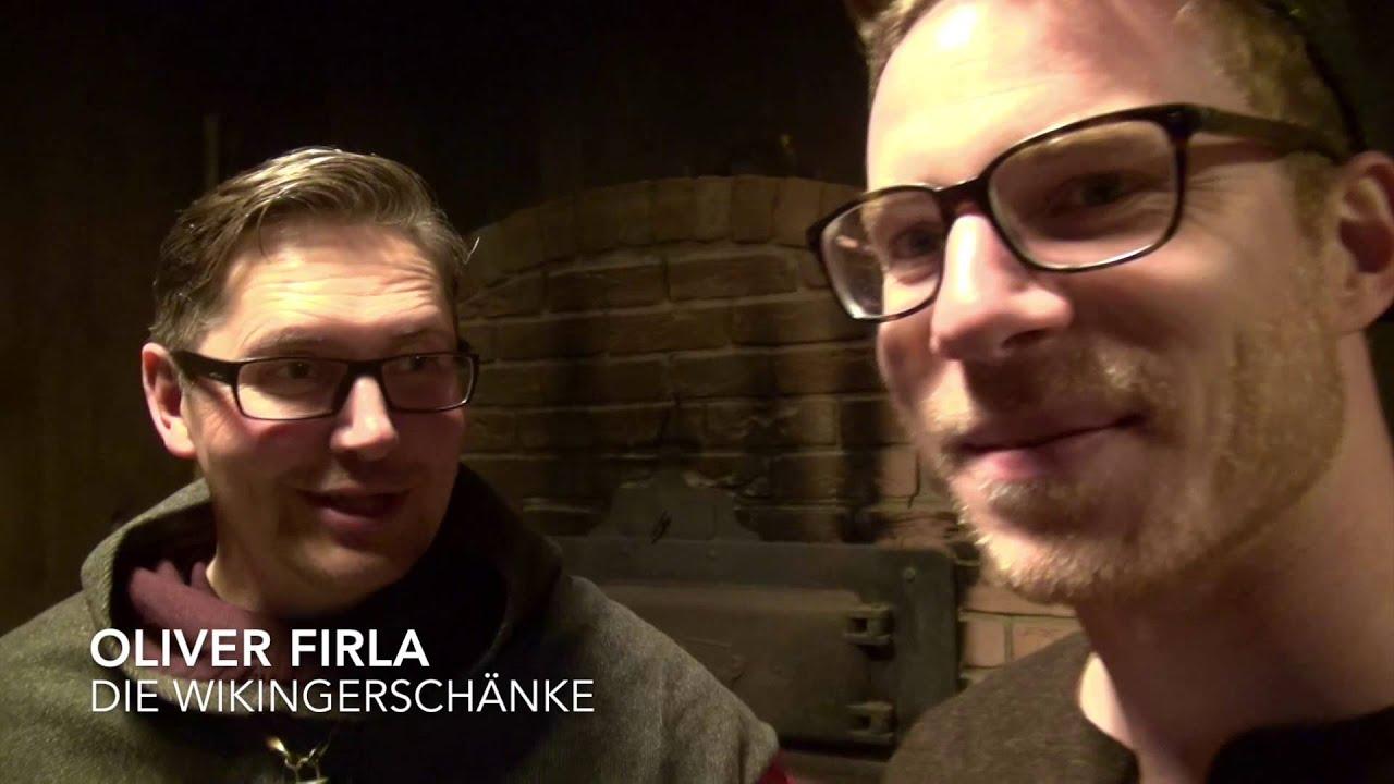 Essen wie die Wikinger! Einblicke in die Wikingerschänke - YouTube