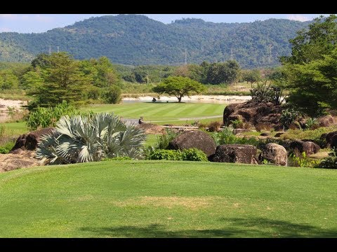 St Andrews and Green Valley Golf Courses in Rayong, Pattaya, Thailand