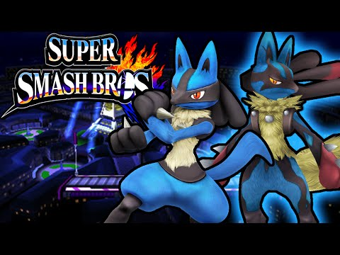 Super Smash Bros 4 3DS: Mega Lucario Final Smash! Aura Guide Gameplay Walkthrough Nintendo PART 18