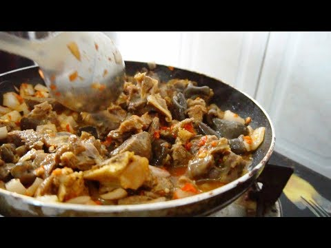 How To Make Asun (Goat Meat) In 2 Minutes