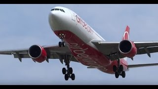 RARE - Assorted Landings Runway 22L, Watching Airplanes Chicago   O