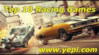 Top 10 Free Racing Games for 2015- Yepi.com