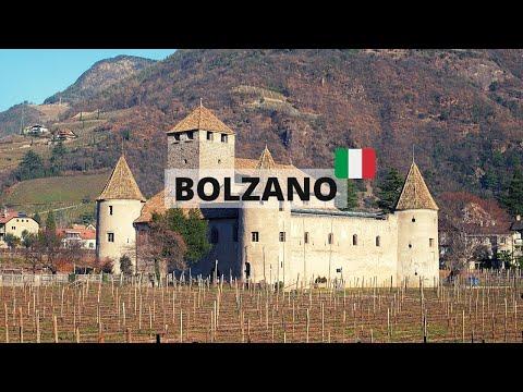 Bolzano in 3 minutes - Travel Italy [4K]