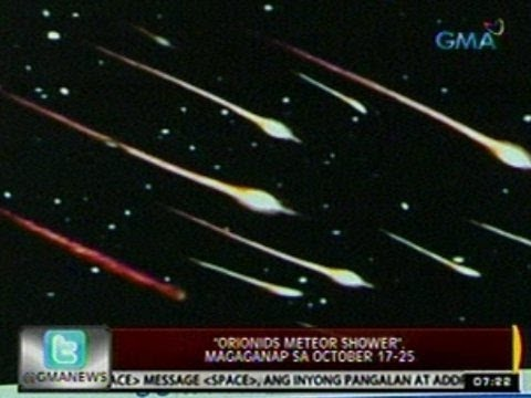 24Oras: 'Orionids Meteor Shower', magaganap sa Oct. 17-25