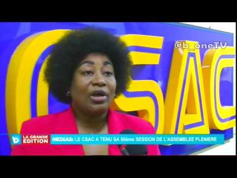 CSAC, 50e session de l'Assemble pleniere de Media a Kinshasa