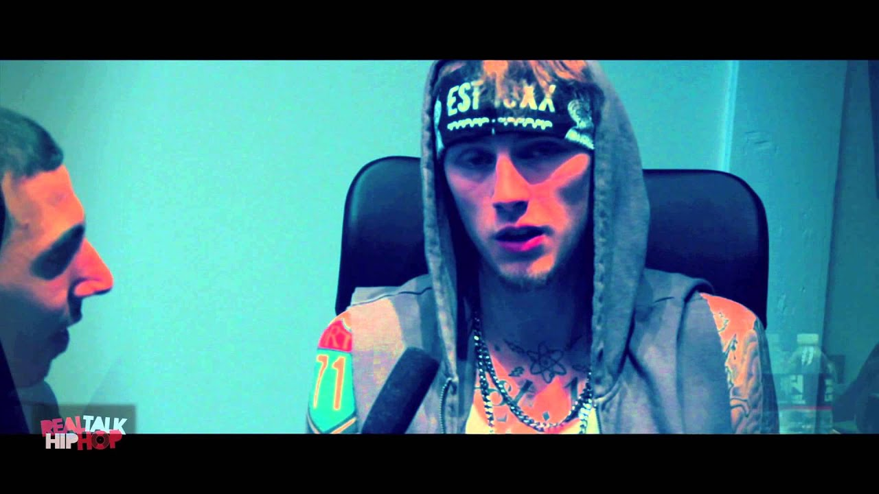 Machine Gun Kelly interview with Real Talk Hip Hop - YouTube