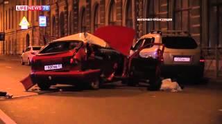 Три человека госпитализированы после ДТП на Гороховой.