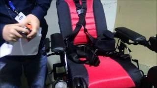 видео Электрическая инвалидная коляска Vermeiren Timix Lift