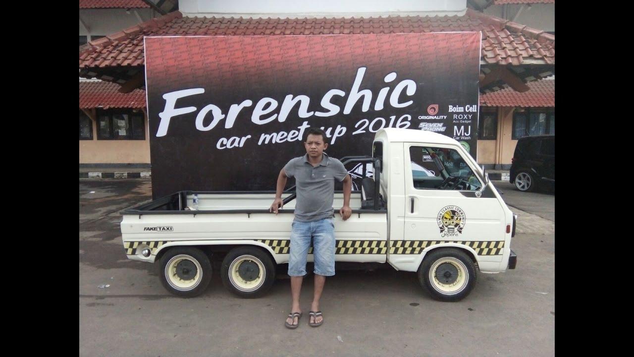Konvoi Suzuki ST20 TAWON Classic Community Jepara Forenshic Car Meet