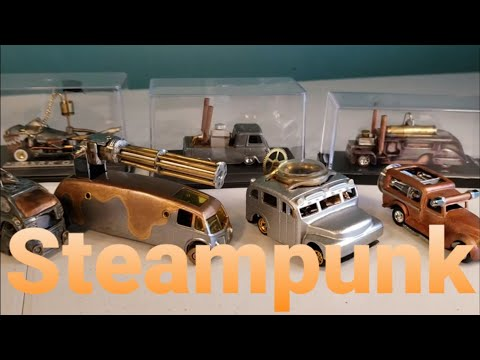 Steampunk Custom Hot Wheels Review