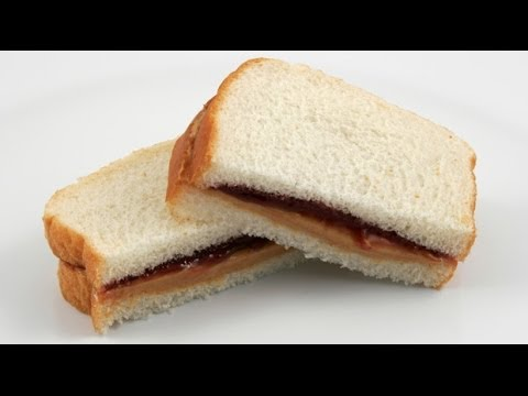 how to make peanut butter and jelly sandwich video