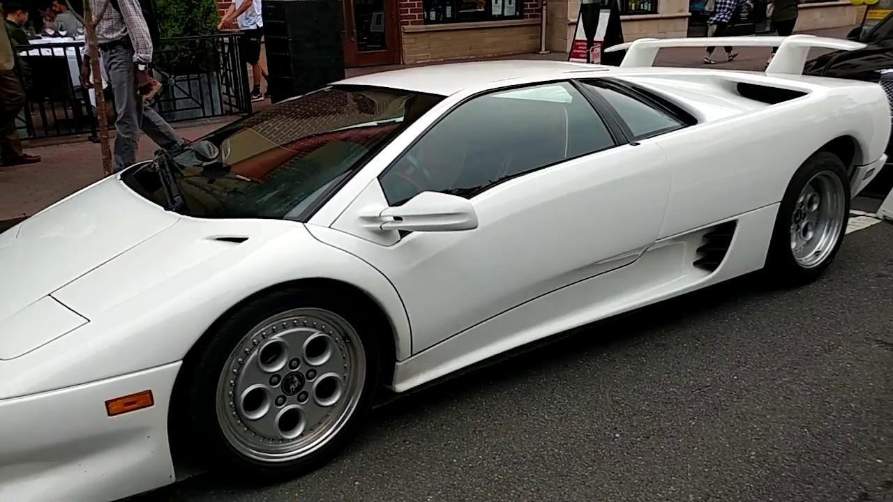 1992 White Lamborghini Diablo Youtube