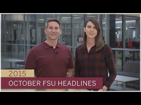FSU Headlines: October 2015