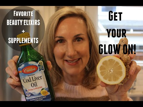 GET YOUR GLOW ON!  My Favorite Beauty Elixirs And Supplements For GLOWY SKIN!