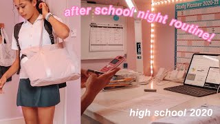 after school night routine 2020!