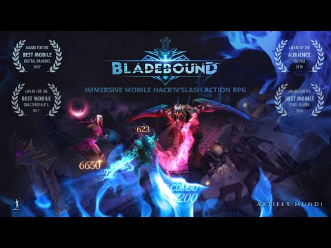 Bladebound: hack and slash RPG