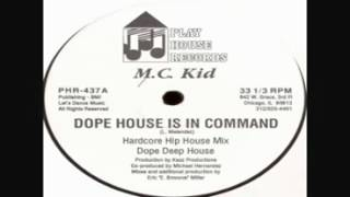 "MC Laz as ""MC Kid"" Dope House Is In Command 1987 House Music"