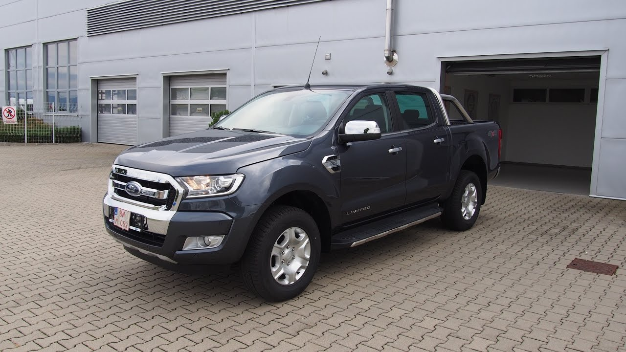 Ford Ranger Sea Grey 2 2 Tdci Duratorq Youtube