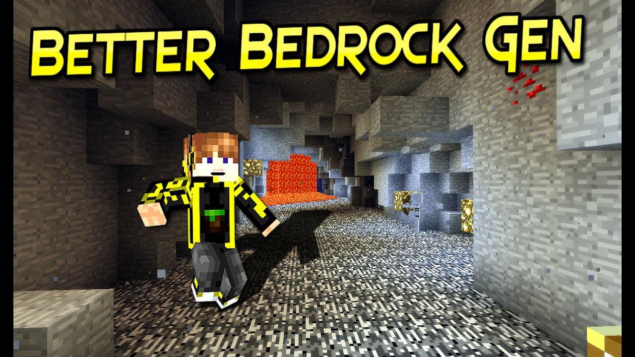Better Bedrock Gen Mod  Flat Bedrock En Survival   Para ...