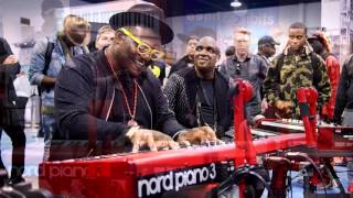 Nord at NAMM 2016 - Alex Alessandroni Jr., Brandon Coleman, Justin Kauflin and more