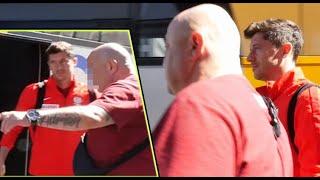 Lewandowski w Słowenii: pilnowany przez POTĘŻNYCH ochroniarzy