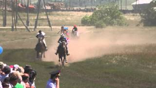 Краснотуранск 4 скачка 2015(Лошади-Horse–Animal-racing-конь-смотреть-онлайн-скачки)