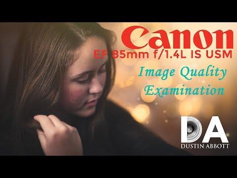Canon EF 85mm f/1.4L IS USM | Image Quality Breakdown | 4K