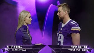 Get to Know Vikings Wide Receiver Adam Thielen