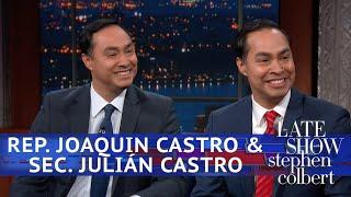 Joaquin Castro Says Julián Castro Will Run For President thumbnail