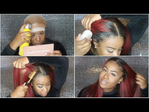 WATCH ME SLAY & INSTALL THIS WIG: MELT DOWN , WHAT LACE GLUE