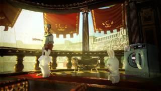 Raving Rabbids Travel in Time - Caesar Trailer [Europe]