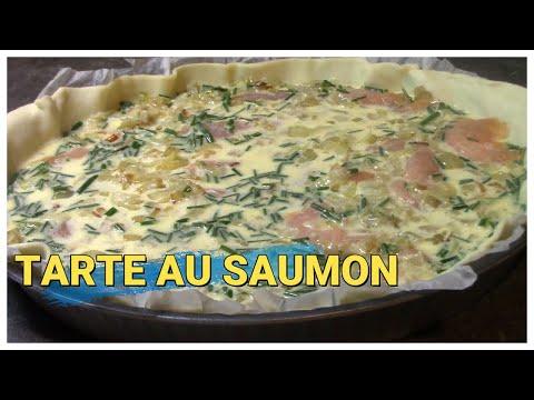 quiche-au-saumon-poireaux-la-recette-très-simple-et-très-bonne-#danslacuisinedesou#quicheausaumon