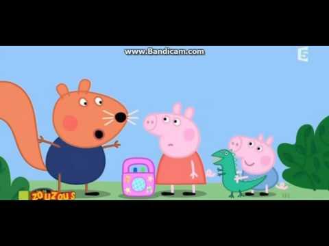 peppa pig en français épisode 1 Les amis de chloué (t'es  bête)?