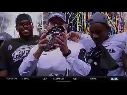 Iowa vs. Michigan State - 2015 Big Ten Football Championship Highlights