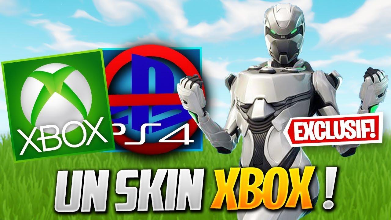 Le PREMIER Pack de SKIN XBOX sur FORTNITE ! (Fortnite News ...