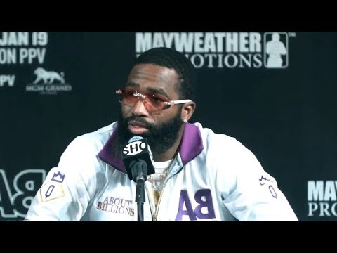 Adrien Broner humiliates Showtime analyst at final press con