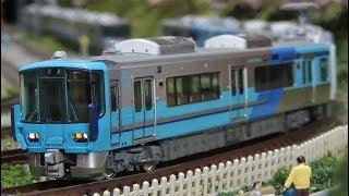 【新製品!】Nゲージ IRいしかわ鉄道521系(藍系+古代紫系) 走行シーン集