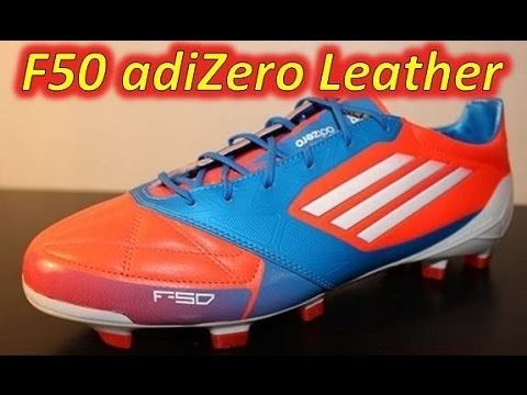 save off d6f8f 3e57d Adidas F50 adizero miCoach Leather Infrared Bright Blue Running ...