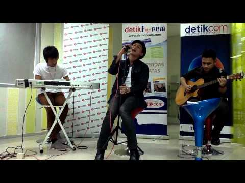 Musikalisasi Puisi Kepada Hawa - ANJI  [ #LiveChatkustik @detikforum 03 ]
