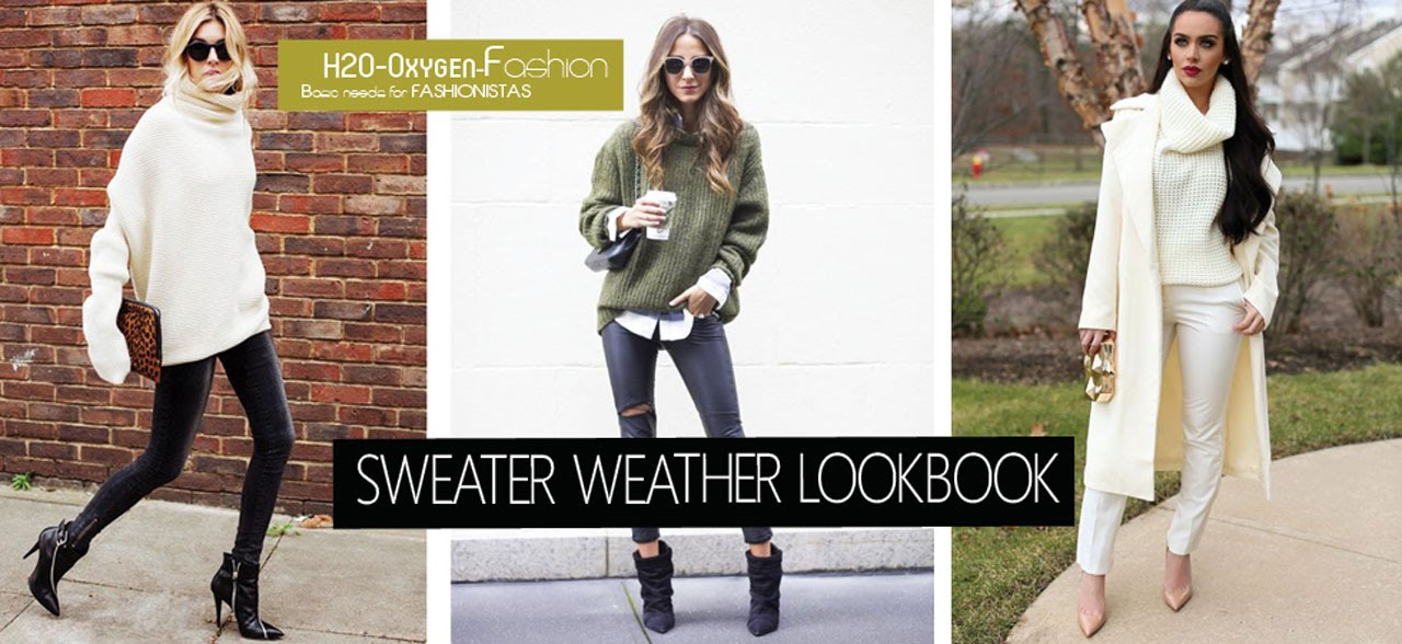 0c7f66e9c1252 Sweater Weather - How to Style the Pullover (Fall/Winter LOOKBOOK ...