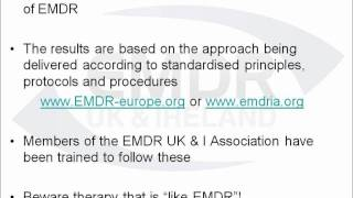 About EMDR part 4