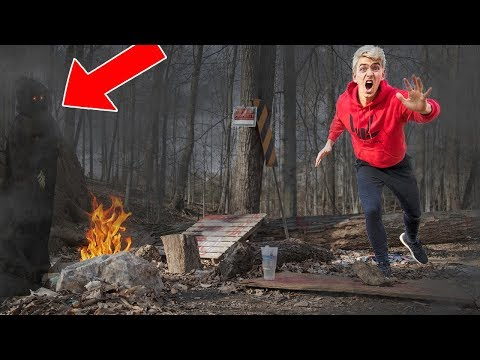 EXPLORING ABANDONED FOREST!! (HAUNTED)