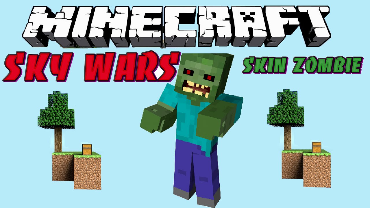 Minecraft Skin Zombie (SKYWARS) - YouTube