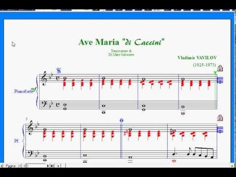 Vladimir Vavilov - Ave Maria di Caccini