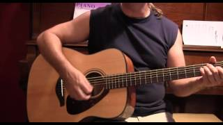 yamaha fg700s acoustic guitar review and demo