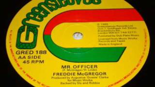 "Freddie McGregor - Mr Officer - 1985 Greensleeves 12"" - DJ APR"