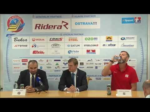VÍTKOVICE TV 623: Ohlasy trenérů po zápase Vítkovice - Sparta